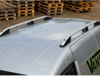VW Caddy & Maxi Silver Aluminium Roof Bars 04-15 & 15>
